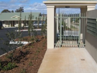 Front gatehouse